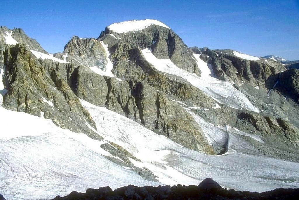 When approaching Gannett Peak...