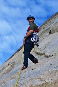 1st Lead climb