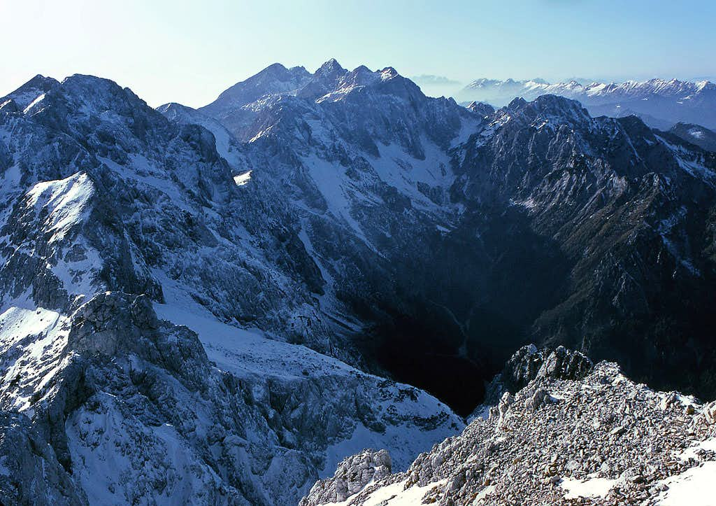 Summit view from Ojstrica....