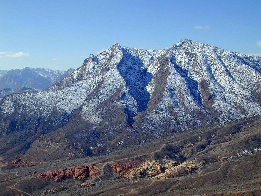 Pincushion Peak from Pk 5835