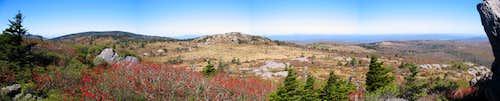 Wilburn Ridge Panorama