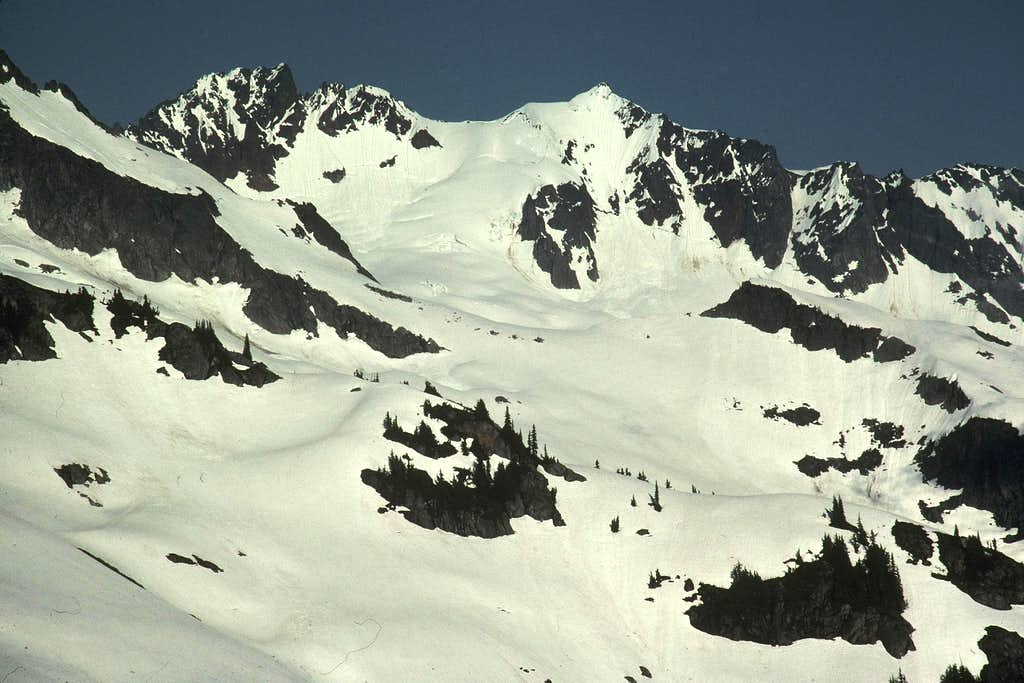 Boston Peak and Sahale Peak