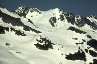 Boston Peak and Sahale Peak