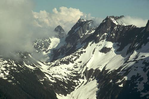 Cascade Pass and Mixup Peak