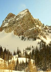 Winter Hike to Lake Blanche 2010