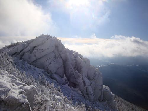 Mount Liberty in Winter