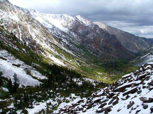 Lundy Canyon & Mt Olsen