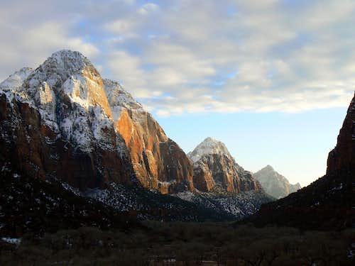 Zion Canyon Sunset