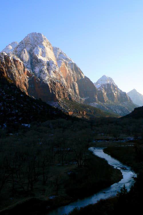 Virgin River and Mountain of the Sun