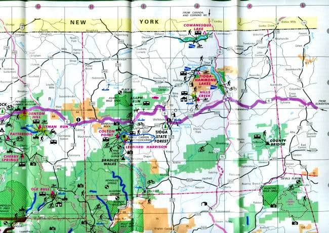 This map shows northcentral...