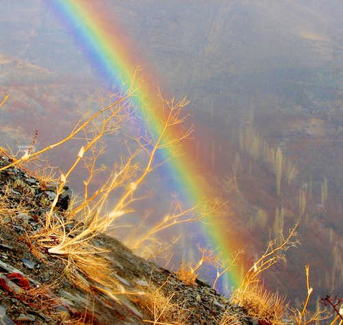مشهد زشک حوالی قله چمن