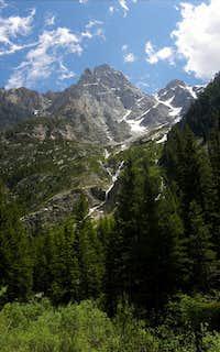 Mount Owen viewed from Cascade Canyon
