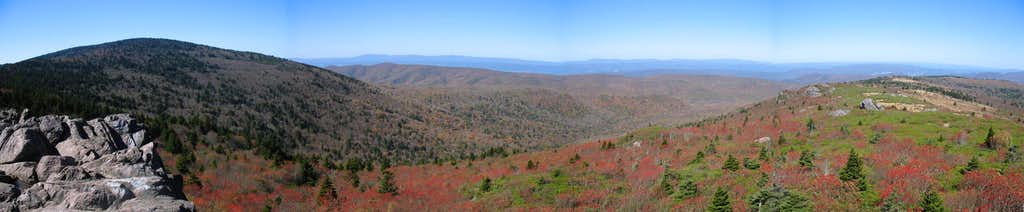 Rhododendron Gap Panorama