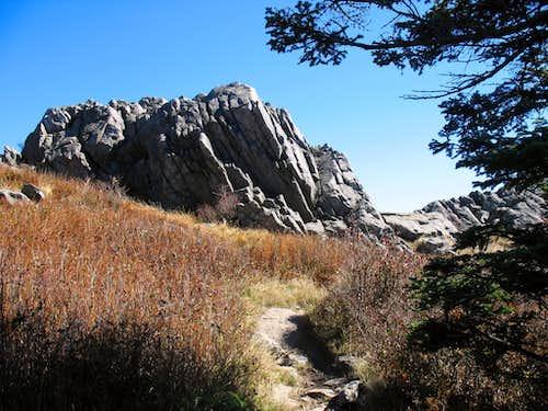 Rock Outcrop on Wilburn Ridge