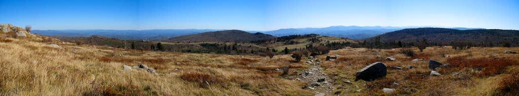 Descending Wilburn Ridge