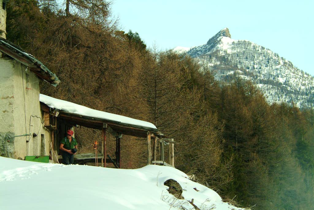 Cima Longhede da N- NW all'Alpe Martsaouchy 1400m