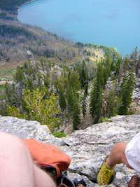 Cube Point East Ridge