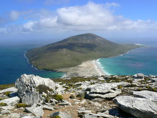 Hiking in the Falkland Islands