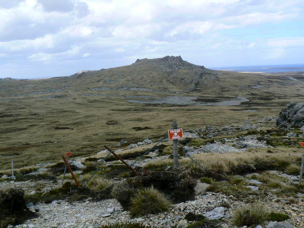 Mt Harriet & Minefield