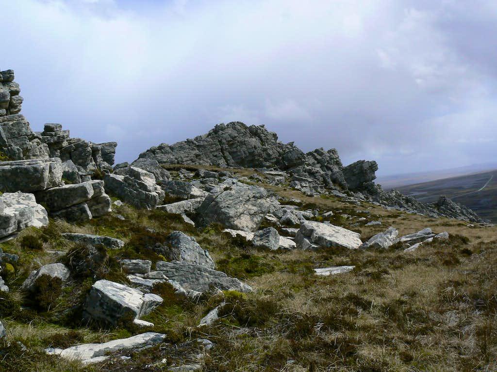 Mt Harriet Summit