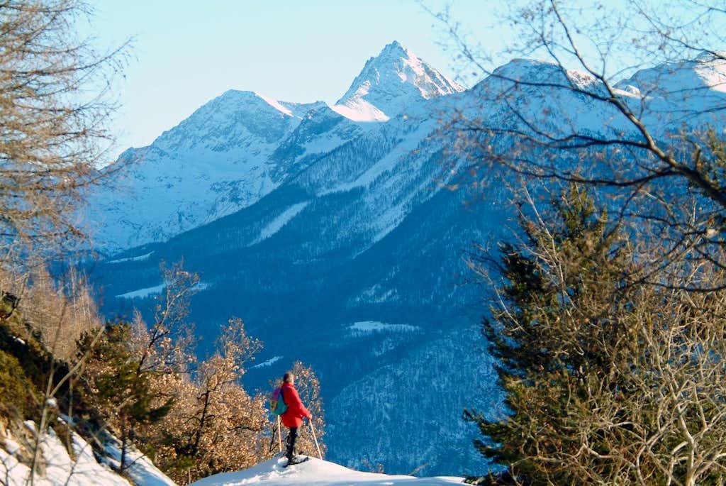 Mounts Glacier  Rafray  and Corquet
