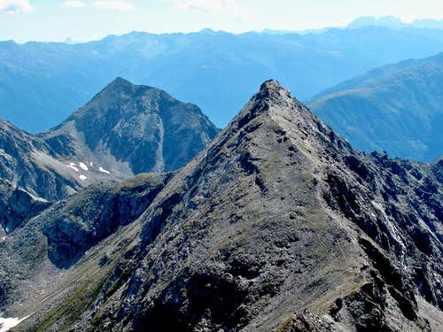 Feldseekopf and the mountains of Carinthia and East Tyrol seen from the Geisselkopf