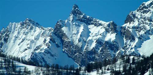 Feluma Tzaboc or Luetta Peaks and Pass