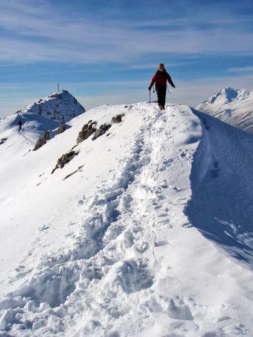 Serra di Celano eastern ridge