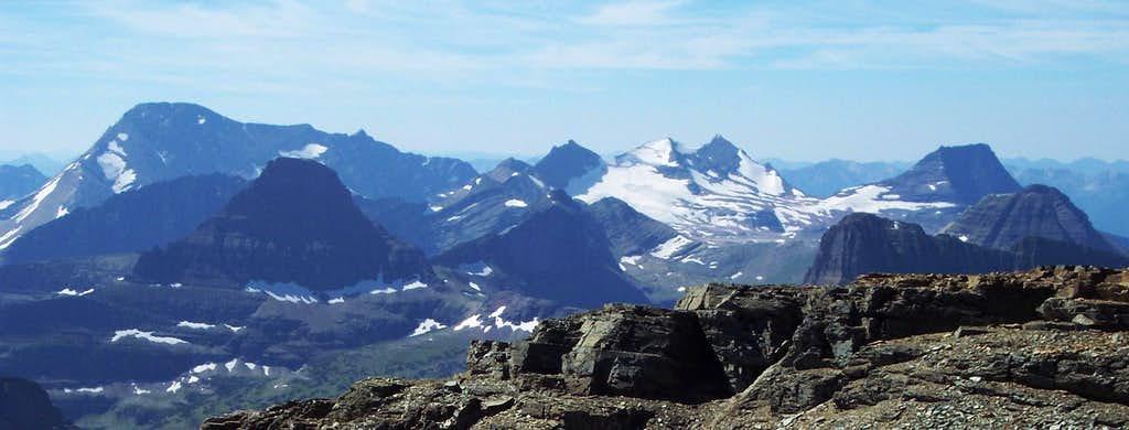 Glacier's Magnificent Seven