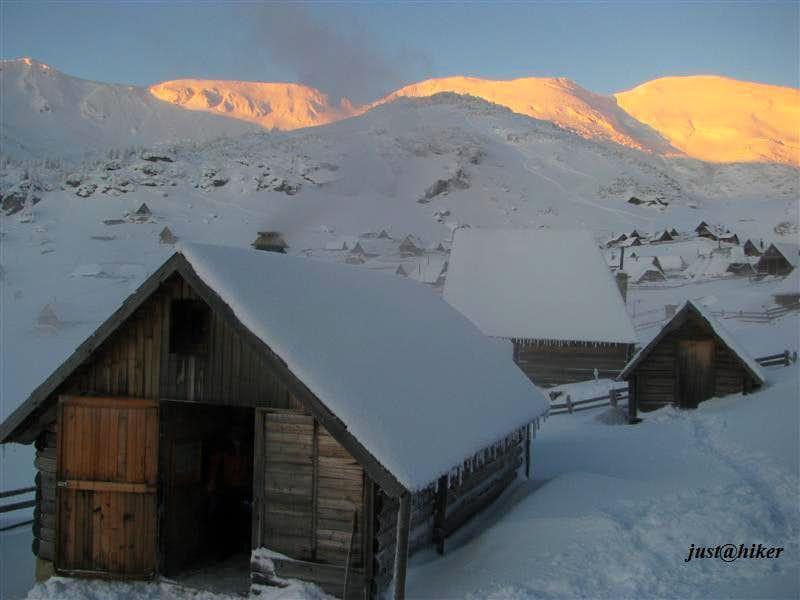 Early morning on Prokosko lake