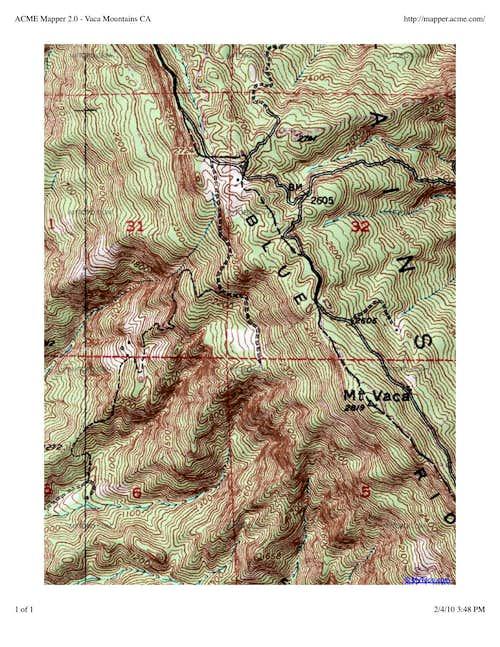 Mount Vaca Topo