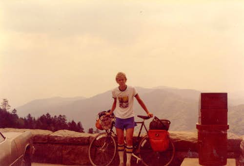Pedaling the Blue Ridge Parkway