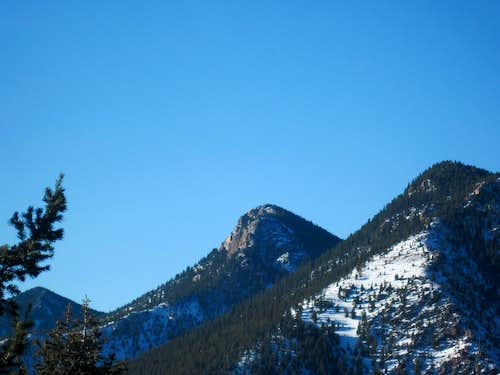 Stove Mountain from #667