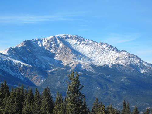 Pikes Peak from Mount Garfield