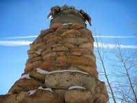 Chimney of Loud s Cabin