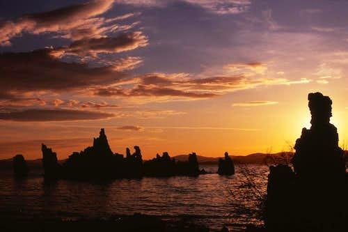 Beautiful Mono Lake Sunrise