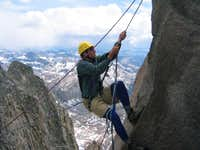 Fellow climbers doing the...