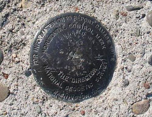 Mount Ashland Benchmark (OR)