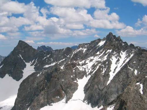 The Palisade Range, from...