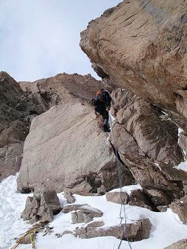 Off the Couloir