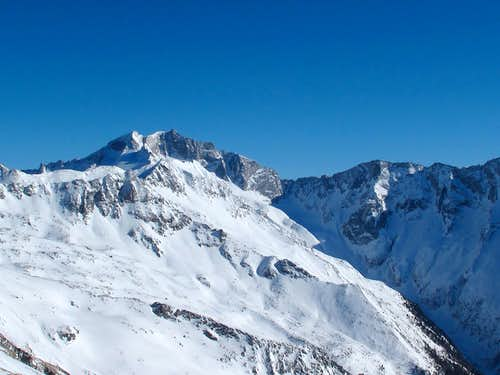 Hochalmspitze (3360m) and Schneewinkelspitze (3016m)