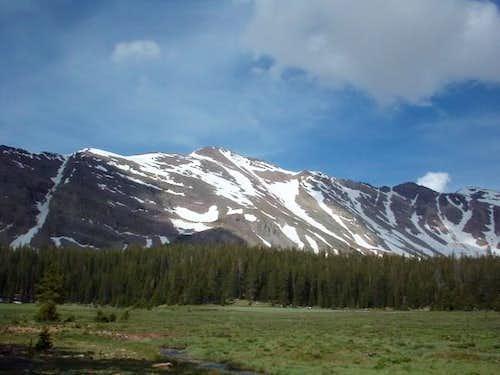 Wasatch Peak near center of...