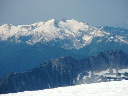 Summit view of Snow King