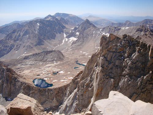 View from Mount Whitney