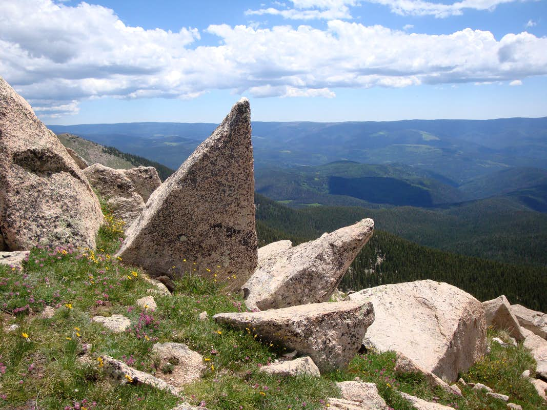 View off of Santa Fe Baldy