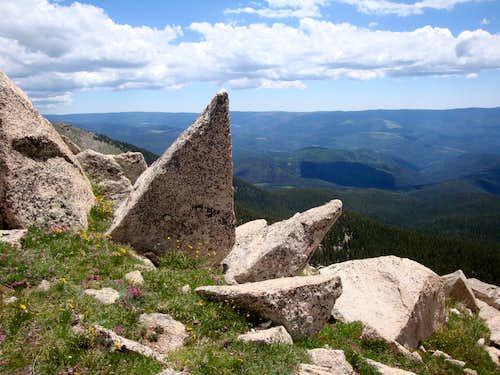 View off of Santa Fe Baldy
