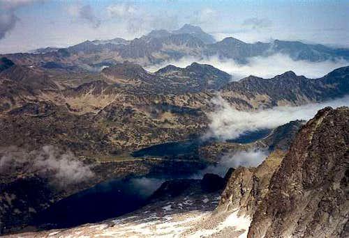 Summit view to the Arbizon