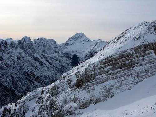 View from Grebenec ridge...