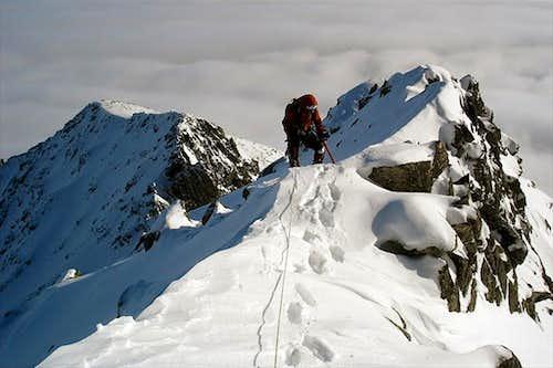 On the ridge between Huncovska pass and Kezmarsky stit
