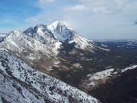 Little Dog Mountain (GNP), Continental Divide Route